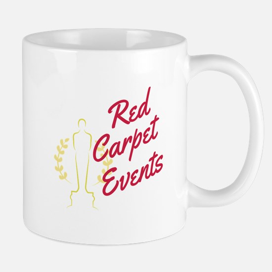 Red Carpet Events Mugs