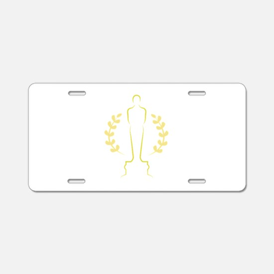 Award Statue Aluminum License Plate