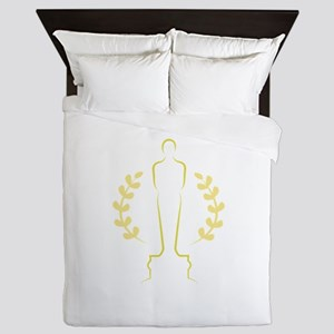Award Statue Queen Duvet