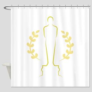 Award Statue Shower Curtain