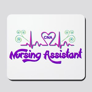 Nursing Assistant CNA Heart Beat Mousepad
