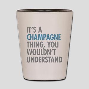 Champagne Thing Shot Glass
