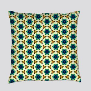 Pop of Poppies Flower Pattern Everyday Pillow