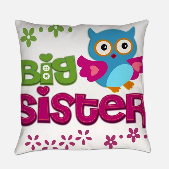 Unique Big sister Everyday Pillow