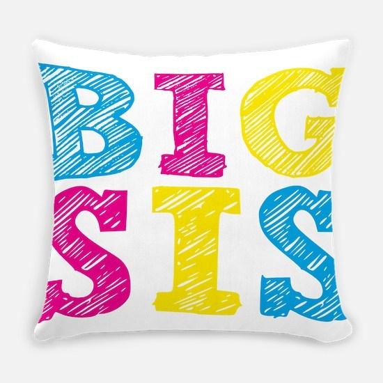 Cute Big sister Everyday Pillow