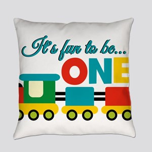 Its Fun to be One Birthday Design Everyday Pillow