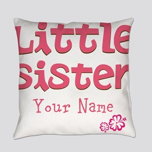 Cute Little Sister Everyday Pillow
