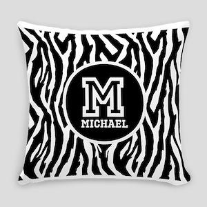 Zebra Animal Print Personalized Monogram Everyday