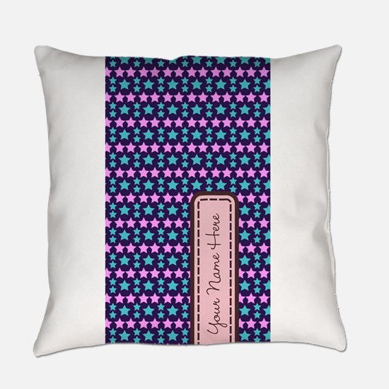 Colorful Star Pattern Everyday Pillow