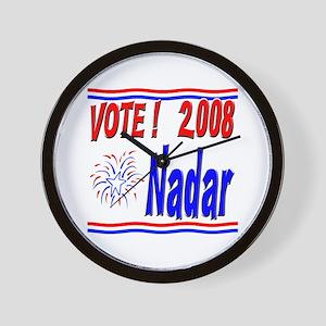 Vote Nadar Wall Clock