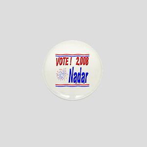 Vote Nadar Mini Button
