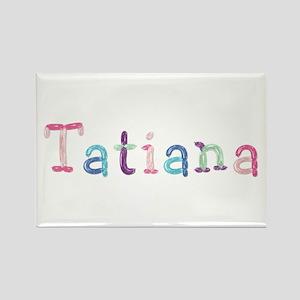 Tatiana Princess Balloons Rectangle Magnet
