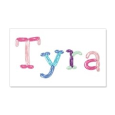 Tyra Princess Balloons 20x12 Wall Peel