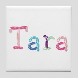 Tara Princess Balloons Tile Coaster