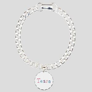 Tessa Princess Balloons Charm Bracelet
