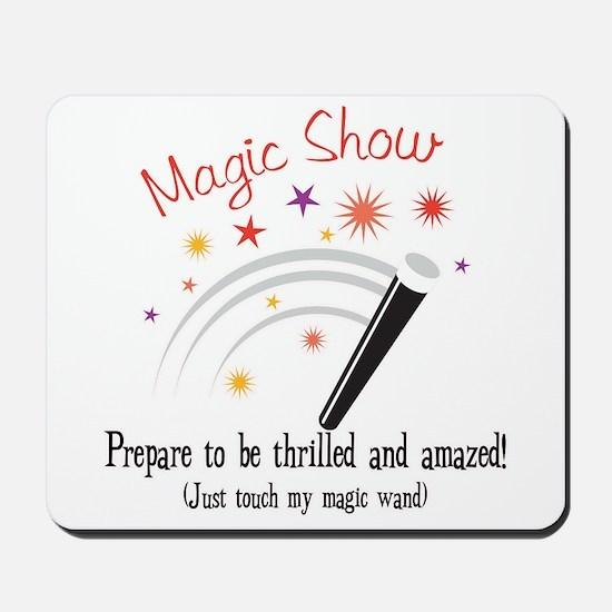 Touch My Magic Wand Mousepad