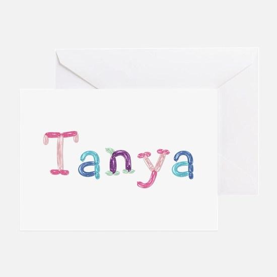 Tanya Princess Balloons Greeting Card