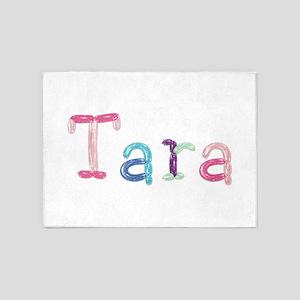 Tara Princess Balloons 5'x7' Area Rug