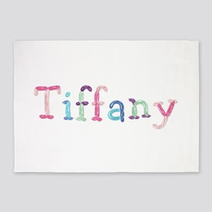 Tiffany Princess Balloons 5'x7' Area Rug