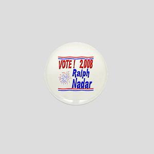 Vote Ralph Nadar Mini Button
