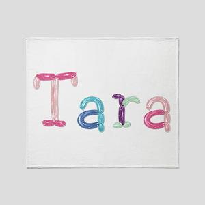 Tara Princess Balloons Throw Blanket