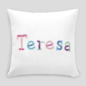 Teresa Princess Balloons Everyday Pillow