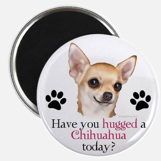Chihuahua Hug Magnet