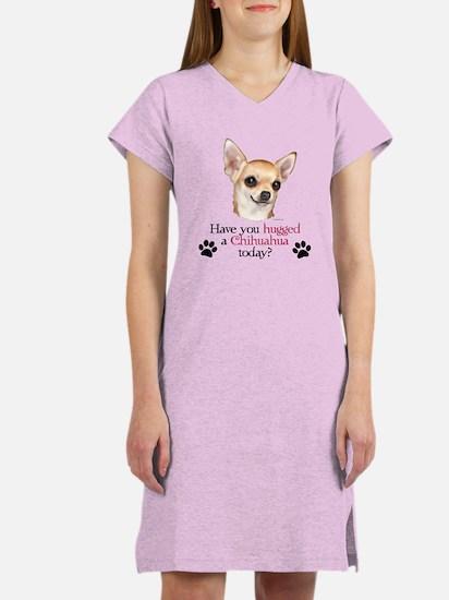 Chihuahua Hug Women's Nightshirt