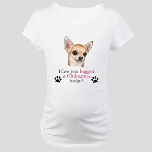 Chihuahua Hug Maternity T-Shirt