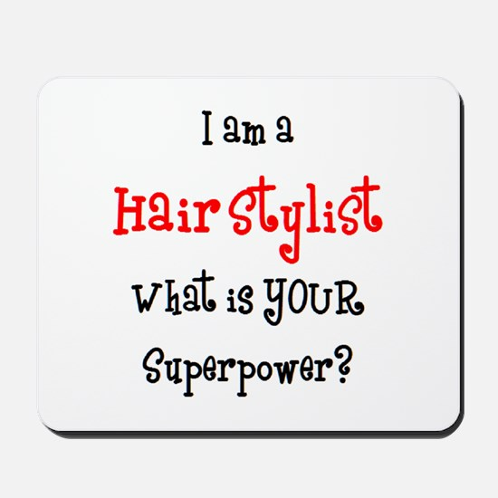 hair stylist Mousepad
