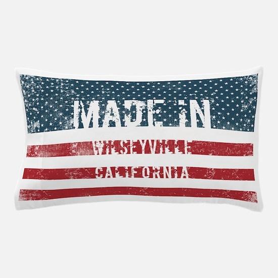 Made in Wilseyville, California Pillow Case