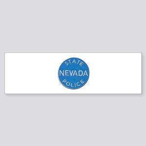 Nevada State Police Bumper Sticker