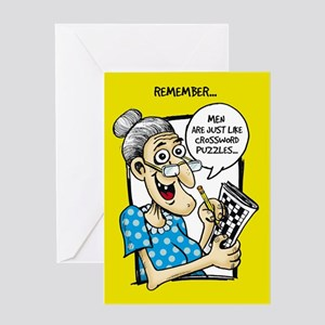 Crossword Puzzles - Greeting Card