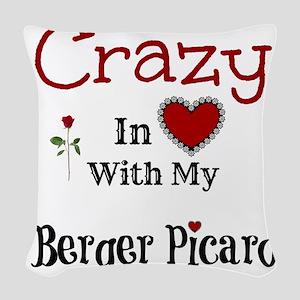 Berger Picard Woven Throw Pillow
