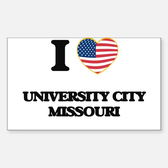 I love University City Missouri Decal
