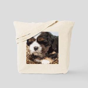 Shi tzu puppy Tote Bag