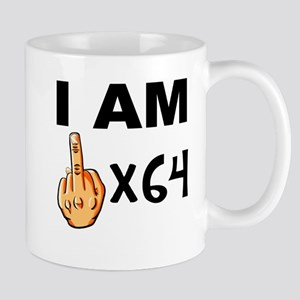 I Am Middle Finger Times 64 Mugs
