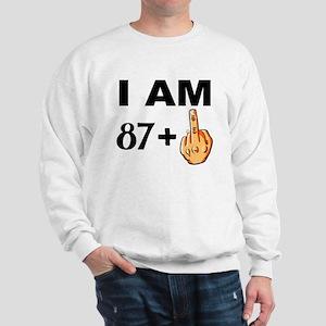 Middle Finger 88th Birthday Sweatshirt
