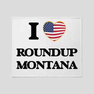 I love Roundup Montana Throw Blanket