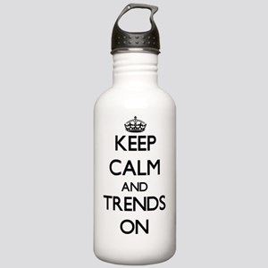 Keep Calm and Trends O Stainless Water Bottle 1.0L