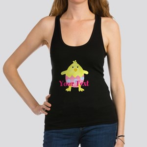 Personalizable Easter Chick Racerback Tank Top