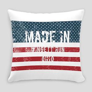 Made in Wingett Run, Ohio Everyday Pillow