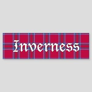 Tartan - Inverness dist. Sticker (Bumper)