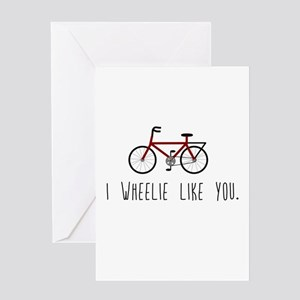 I Really Like You Greeting Cards