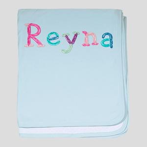 Reyna Princess Balloons baby blanket