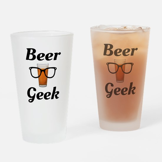 Beer Geek Drinking Glass