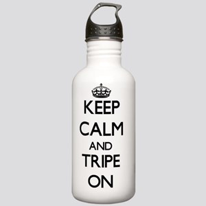 Keep Calm and Tripe ON Stainless Water Bottle 1.0L