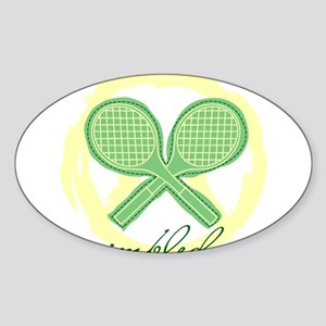 Wimbledon Oval Sticker