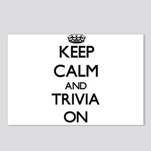 Keep Calm and Trivia ON Postcards (Package of 8)