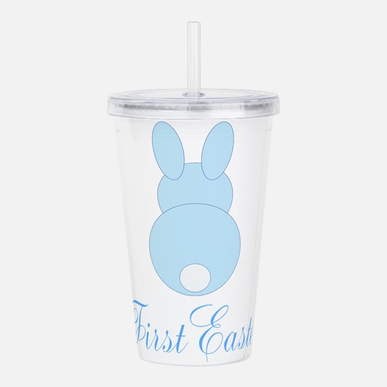 First Easter Blue Bunny Acrylic Double-wall Tumble